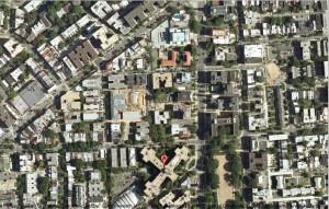 The street grid of my new city of Washington, D.C.